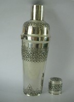 Antik ezust shaker poharakal