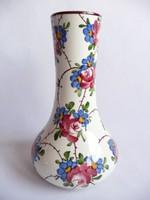Városlődi rózsás kerámia váza