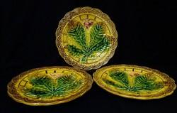 Villeroy&Boch Schramberg majolika tányérok 3 db