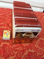 Sok Száz Darab Mesterszakács Recept kártya Gyűjtemény Dobozában - Szakács - Sütési - Sütemény  -