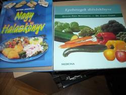 Epebetegek diétáskönyve  Nagy halaskönyv