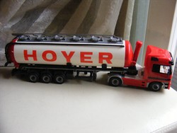 Mercedes Actros  Hoyer silo nyerges szerelvény kamion modell 36 cm