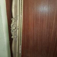 Kép vagy tükör keret, 77x117 cm külső méret.