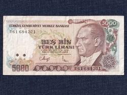 Törökország 5000 Líra bankjegy 1970 / id 12262/