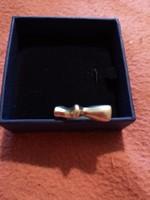 Érdekes forma ezüst gyűrű 13g