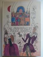 Népek meséi: Az aranyláncon függő kastély - régi mesekönyv Heinzelmann Emma rajzaival