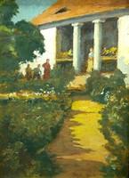 NÁDLER RÓBERT (1858 - 1938 ):Látogatók
