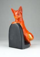 0U617 Hummel porcelán szobor rókás könyvtámasz
