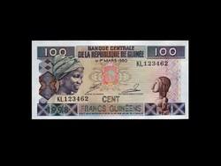 UNC - 100 FRANCS - GUINEA - 1998