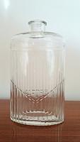 Régi nagy Baeder kölnis üveg vintage parfümös üveg 21 cm