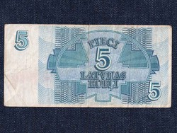 Lettországi 5 rublis / id 5962/