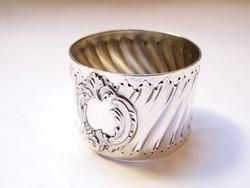 Csodaszép francia ezüst szalvétagyűrű!