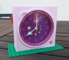 Karácsonyi - Lego retro asztali ébresztős óra