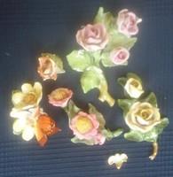 Herendi sérült, törött rózsák, virágok egyben