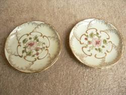 2 db Zsolnay porcelán tálka,gyűrűtartó