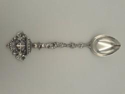 Csodás ezüst kanál, design: BAUSI & FIGLI di MARIO BAUSI Firenze