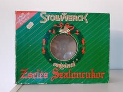 Retro szaloncukros doboz Stollwerck zselés