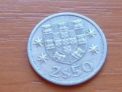 PORTUGÁLIA 2,5 ESCUDO 1985