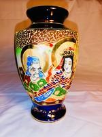 Eredeti japán vintage Satsuma váza