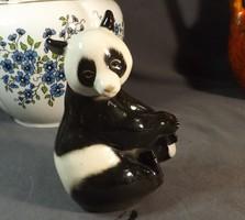 Panda maci orosz porcelán