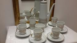 Art deco Freiberger  kávés készlet