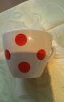 Gránit piros pettyes 1 dl csésze