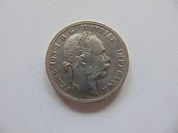1 florin 1888 Szép ezüst