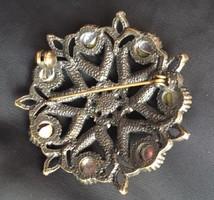 Antik bronz bross