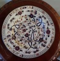 Zsolnay óbambusz tányér