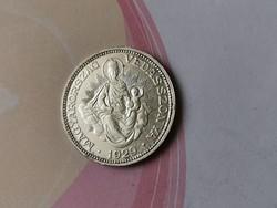 1929 ezüst 2 pengő!!! Így RITKA!!!