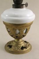 Antik öntöttvas aljú szecessziós petróleum lámpa G128