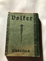 Volker - A német tornaszövetség dalkönyve 1926