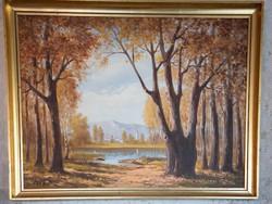 Púza Sándor két festménye