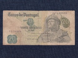 Portugália 20 Escudo bankjegy 1971 / id 12891/