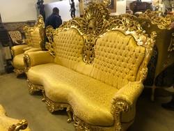 Királyi 14.Lajos stílusú ülőgarnitúra