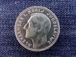Jugoszlávia I. Sándor (1921-1934) .500 ezüst szép 20 Dínár 1931 / id 13843/