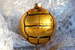 Focilabda karácsonyfadísz