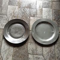 Antik ón ,zinn tányérok 1800-as évek közepe