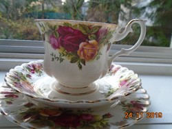 Royal Albert Old Country Rose reggeliző készlet