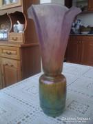 Horváth Márton, irizáló, eozinos üveg váza