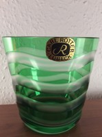 Exclusive Carl Rotter kétrétegű kristàly pohár gyönyörű állapotban