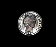 USA ezüst  dime 1892.