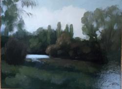Szignált festmény