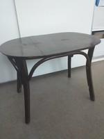 Thonet asztal, ovális, ritka darab. tonet, tonett, thonett