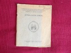 Debreceni Svetits Katolikus iskola Ételleírások - kézzel írt receptek