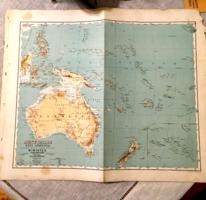 Austrália Kézi abrosza 1872.