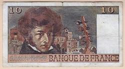 Francia bankjegy 10 Frank