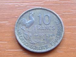 FRANCIA 10 FRANK FRANCS 1953 / B KAKAS #