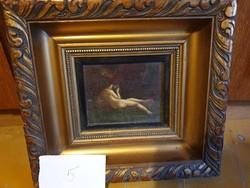 Mini nude in big frame