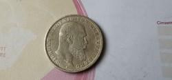 1903 Württemberg ezüst 5 márka 27,8 gramm 0,900 ritkább